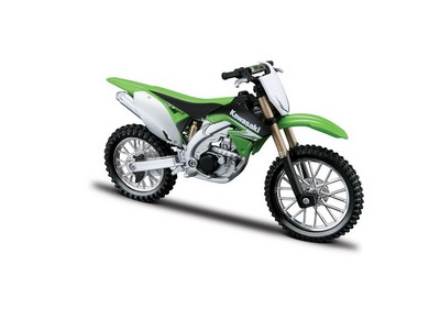 Picture Gallery for Burago 18-51045 Kawasaki KX450F  - Motorcycle