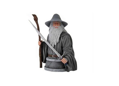 Picture Gallery for Gentle Giant 80230 Gandalf The Grey Polystone Bust  - Fellowship of the Ring