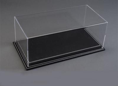 Picture Gallery for Pocher ATL10092 Luxury Black Leather Stitched Base Display Case