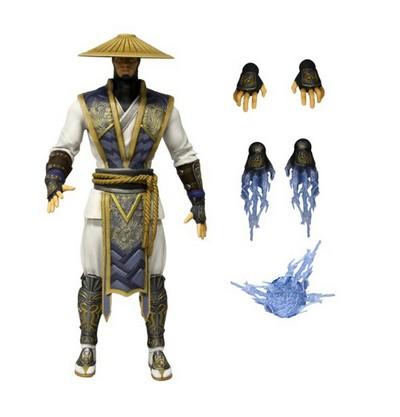 Raiden Poseable Figure  Mortal Kombat