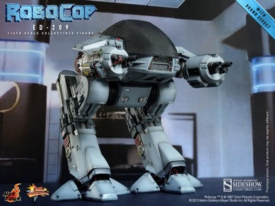 Picture Gallery for Hot Toys MMS204 ED-209 Poseable Figure  Robocop