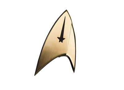 Command Division Communicator Badge Prop Replica  Star Trek