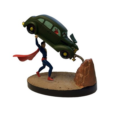 Picture Gallery for Factory FE408329 Superman Action Comics Shakems Statue  Superman