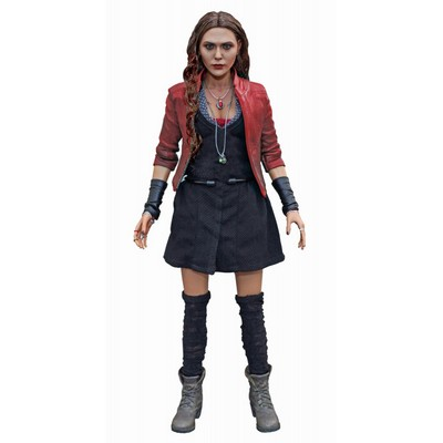 1//6 Scarlet Witch Elizabeth Olsen Head Sculpt 2.0 Fit Female Phicen kumik Figure