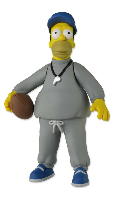 Picture Gallery for Neca 16006 Homer Simpson (Coach) Figure  The Simpsons