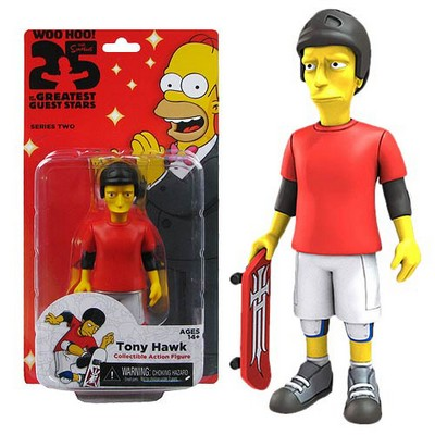 Picture Gallery for Neca 16037 Tony Hawk Figure  The Simpsons