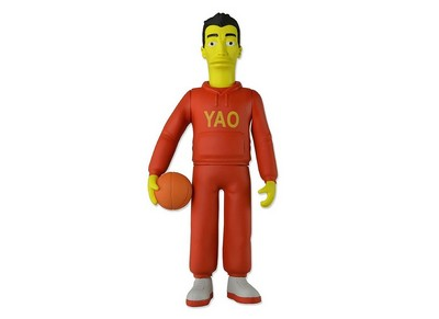 Picture Gallery for Neca 16004 Yao Ming Figure  The Simpsons