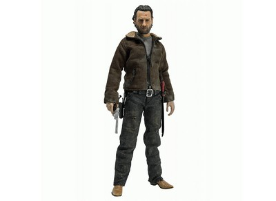 Rick Grimes Poseable Figure  The Walking Dead