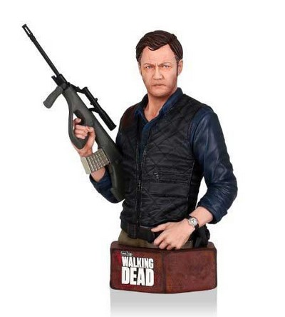 The Governor Mini Bust  The Walking Dead