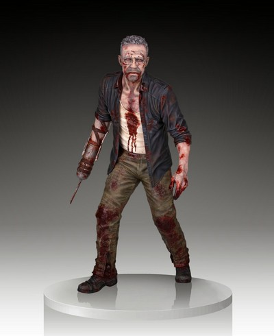 Merle Dixon Walker Polystone Statue  The Walking Dead