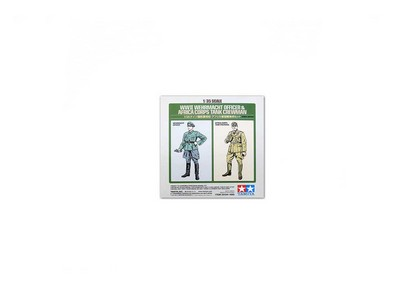 Wehrmacht Officer and Africa Corps Tank Crewman Figure