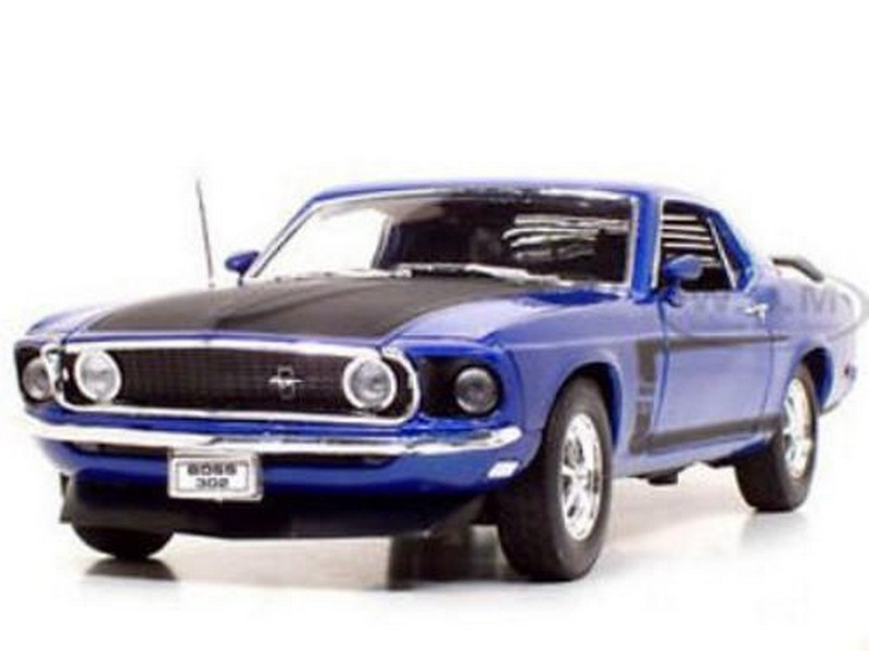 Picture Gallery for Welly 12516WBLUE Ford Mustang 1969 Blue