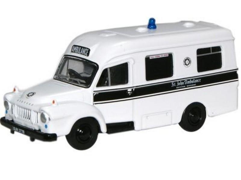 Bedford J1 Lomas Ambulance St John