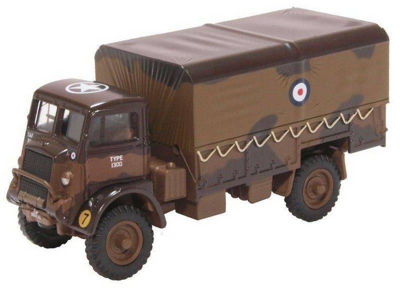 BNIB OO GAUGE DIECAST OXFORD 1:76 76QLD007 Bedford QLD RAF 2nd Tactical A F 1944