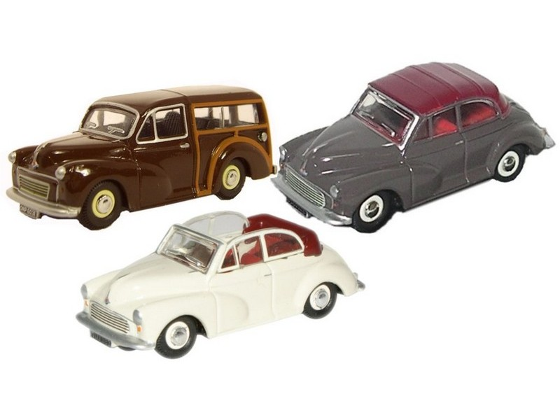 Picture Gallery for Oxford Diecast 76SET07A Sets 3 Piece Triple Morris Minor