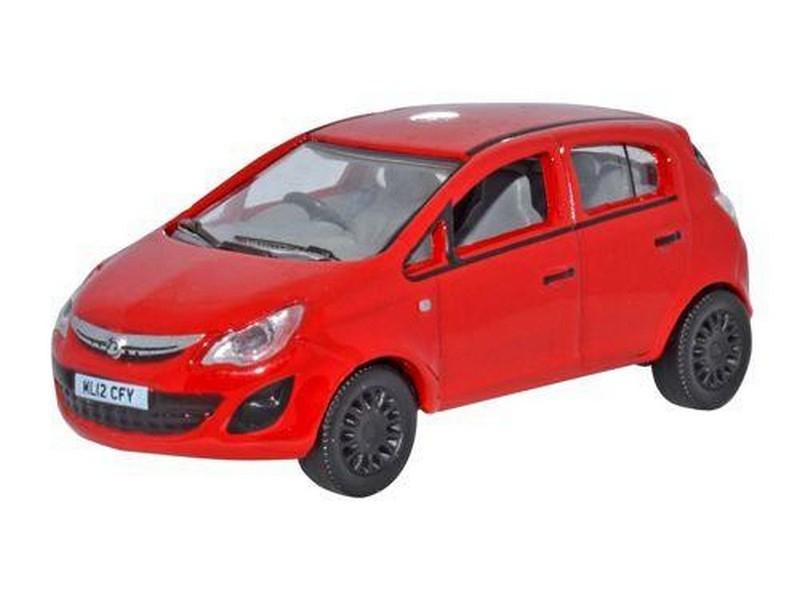 Vauxhall Corsa Red