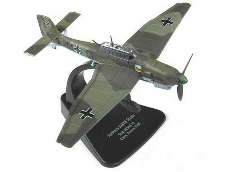 Picture Gallery for Oxford Diecast AC004 Junkers Ju 87 Stuka
