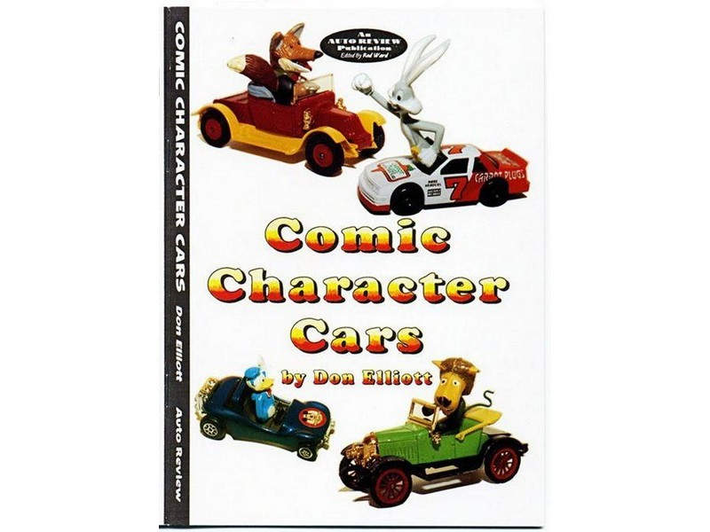 Auto Review Books Comic Character Cars