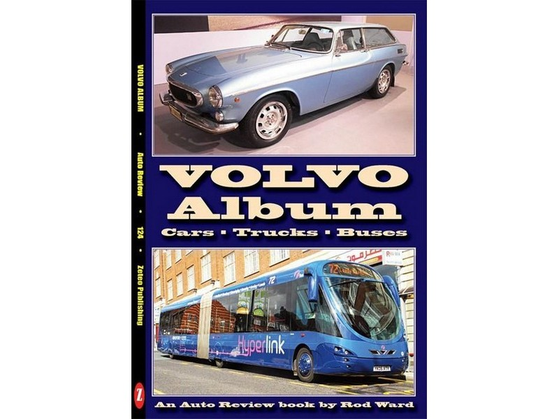 Auto Review Books Volvo Album