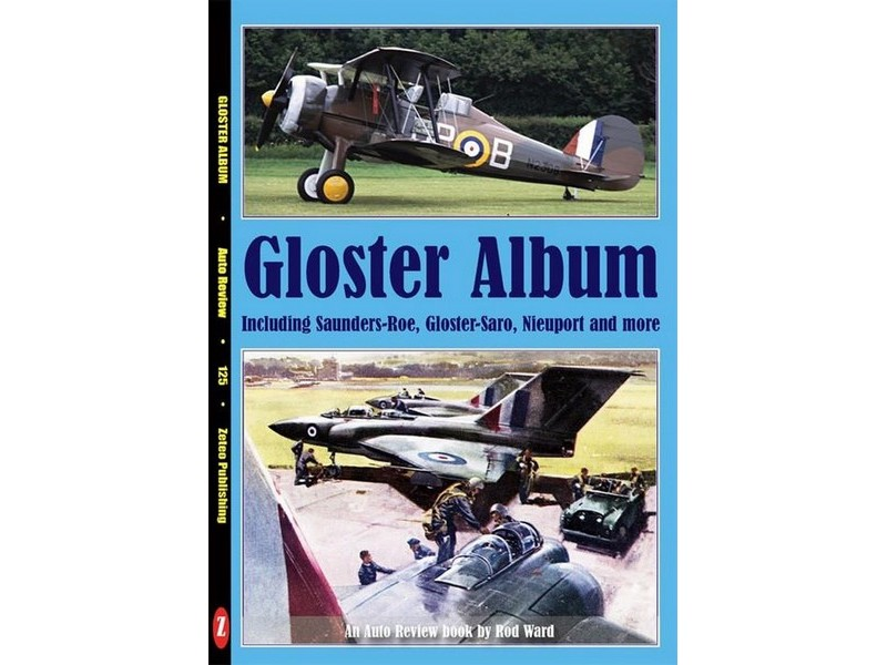 Auto Review Books Gloster Album