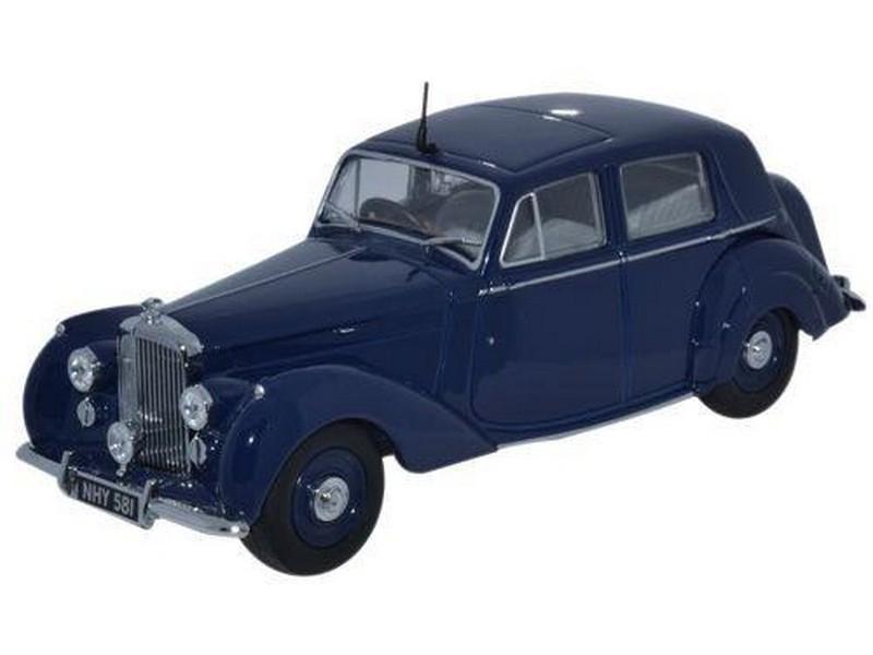 Model Cars Oxford Diecast Bentley MKV1 Blue Silver Black