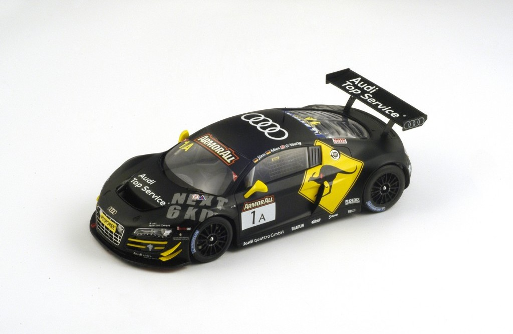 Picture Gallery for Spark 18AS003 Audi R8 LMS Phoenix Racing No. 1 Wi...