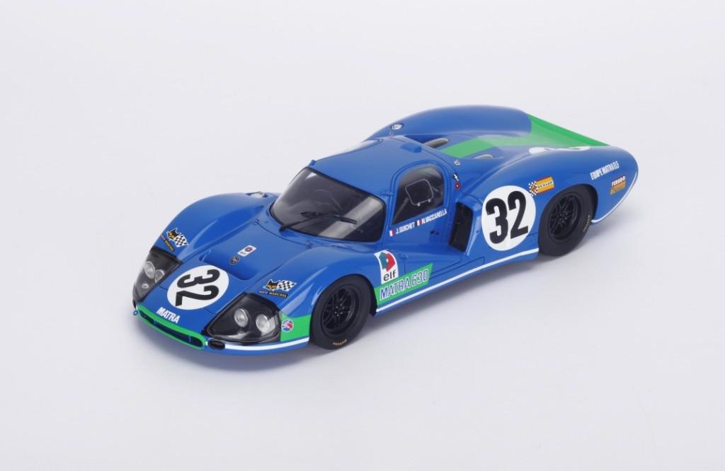 IXO LM1972 Matra Simca MS670 #15 Le Mans Winner 1972-Hill//Pescarolo 1//43 Escala