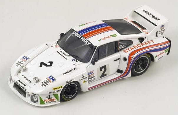 PORSCHE 935 B2 WINNER DAYTONA 1980-43DA80 SPARK 1//43