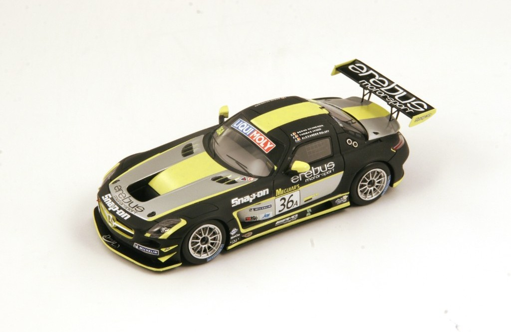 Picture Gallery for Spark AS010 Mercedes-Benz SLS AMG GT3 #36 Winne...