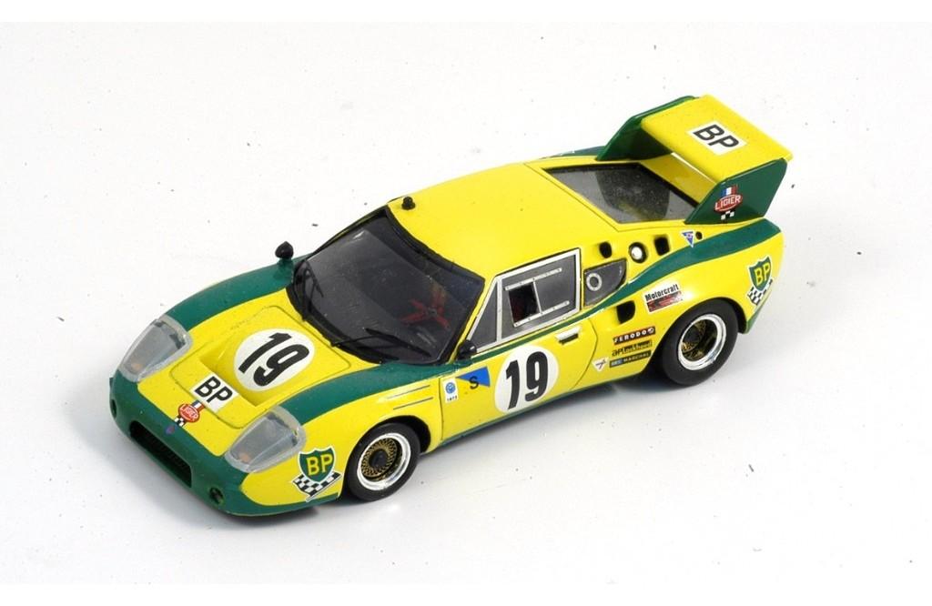 Picture Gallery for Spark S0546 Ligier JS2, No.19 Le Mans 1973 Pier...