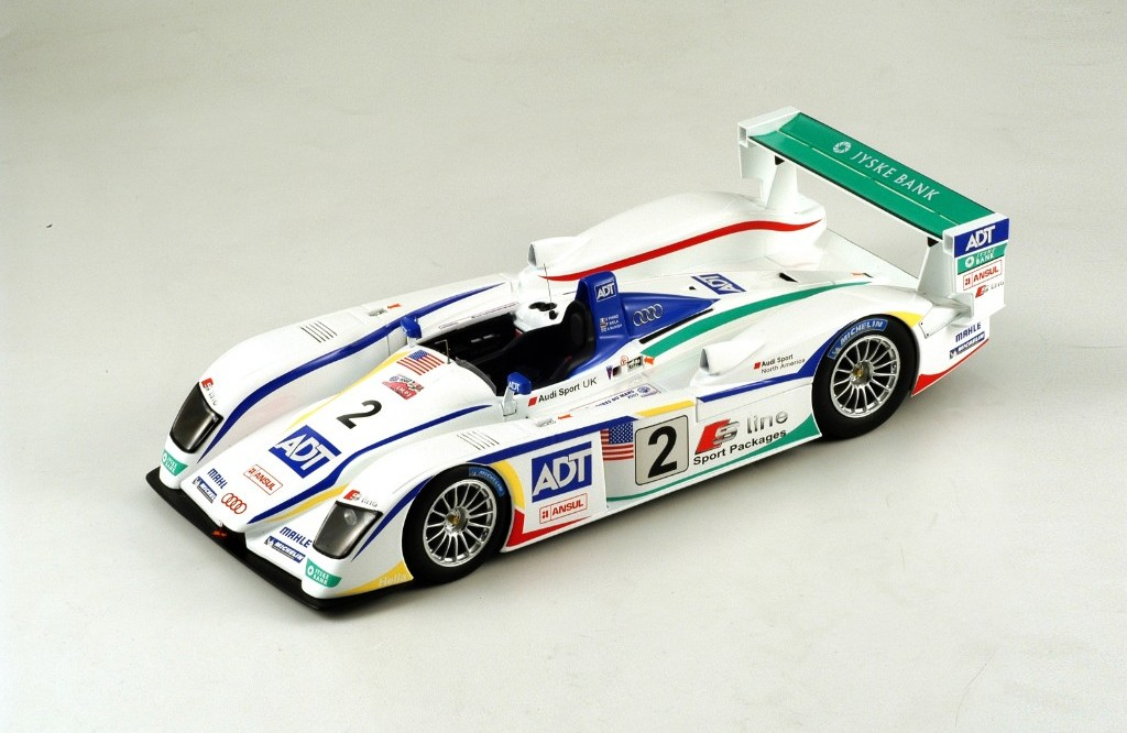 Picture Gallery for Spark S1805 Audi R8, Champion Racing, No.2, 3rd...