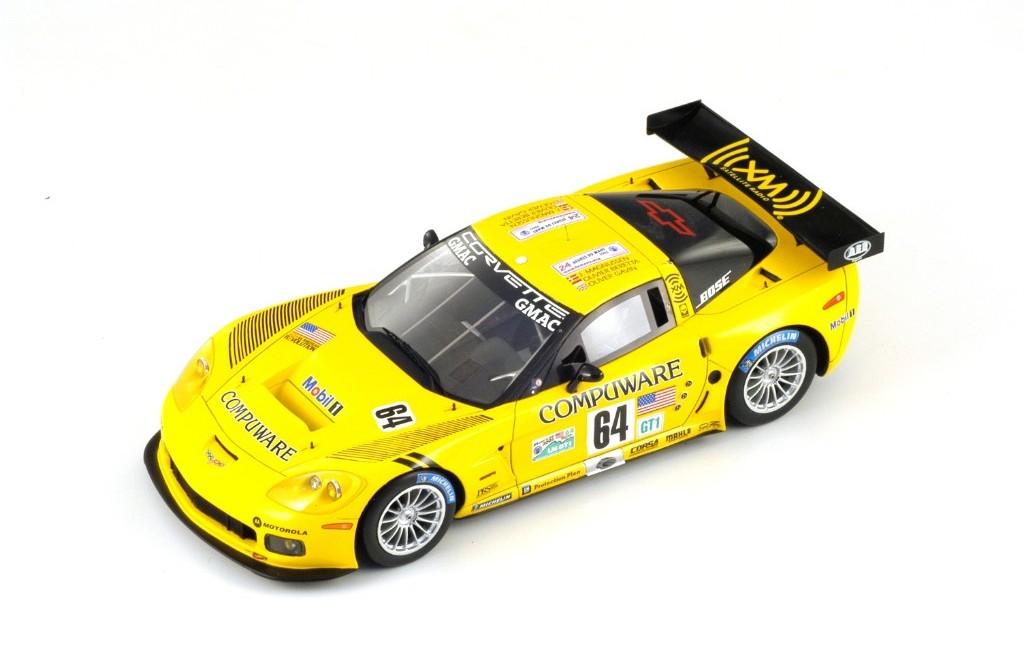 Picture Gallery for Spark S2401 Corvette C6 R, No.64, 5th Le Mans 2...
