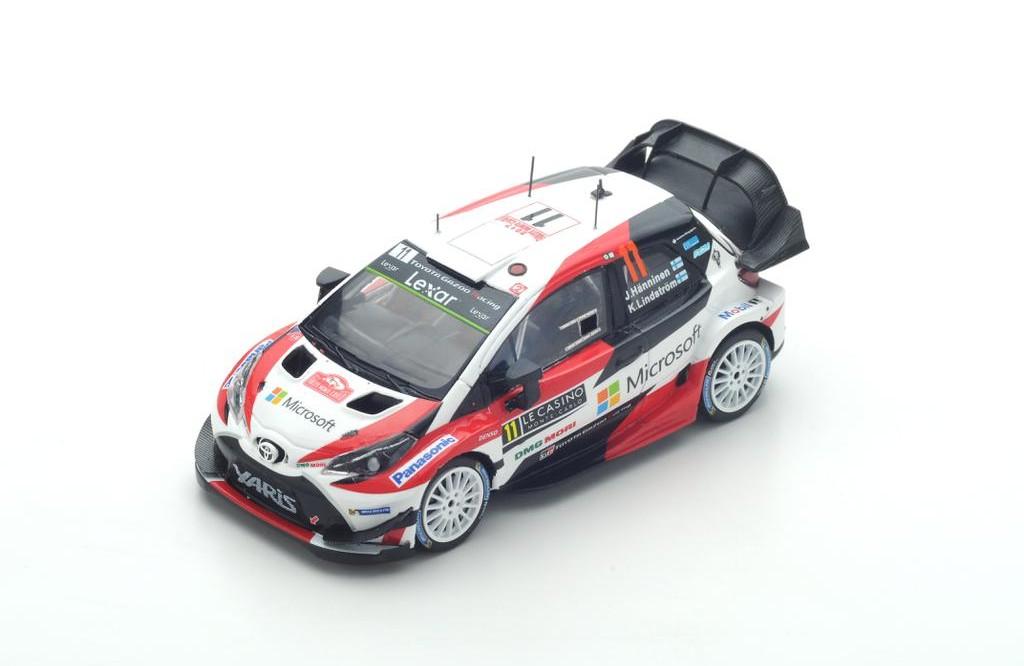 3-Car Set Toyota Gazoo Racing WRC 2018 Series Marken-Weltmeister1:43 Spark