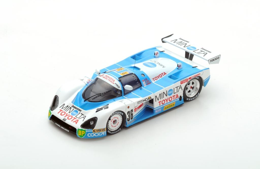 Picture Gallery for Spark S5242 Toyota 88C No.36 Le Mans 1988 G. Le...