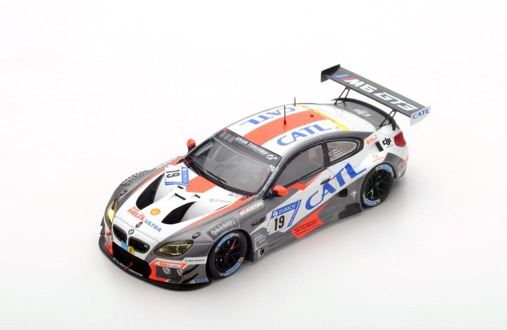 BMW M6 GT3 24h Nürburgring 2016 Schubert Motorsport Tomczyk 1:18 Minichamps NEU