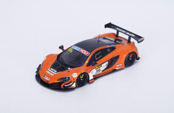 Picture Gallery for Spark AS021 McLaren 650S GT3 n.59 Winner 12H Ba...