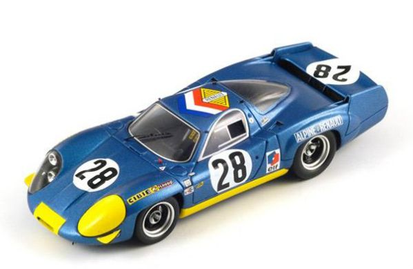 Webb 1:43 Spark Alpine A450b #36 7th 24h LeMans 2014 Chatin Panciatici