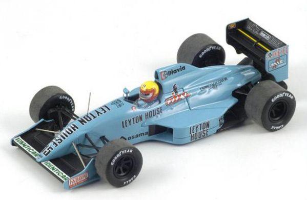 Spark S2979 LEYTON HOUSE CG901 n°16 7ème GP France 1990 Ivan Capelli 1//43