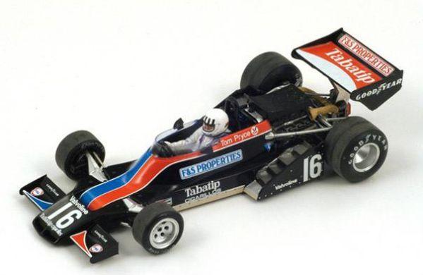 S7372 Shadow DN9 Cosworth V8 F1  Belgian GP 1979 Elio de Angelis Spark 1:43