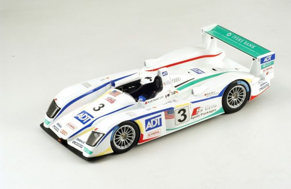 Picture Gallery for Spark S1801 Audi R8, Champion Racing, No.3, Win...