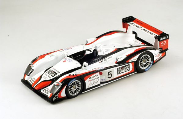 Picture Gallery for Spark S1802 Audi R8 Team Goh, No.5, Winner Le M...
