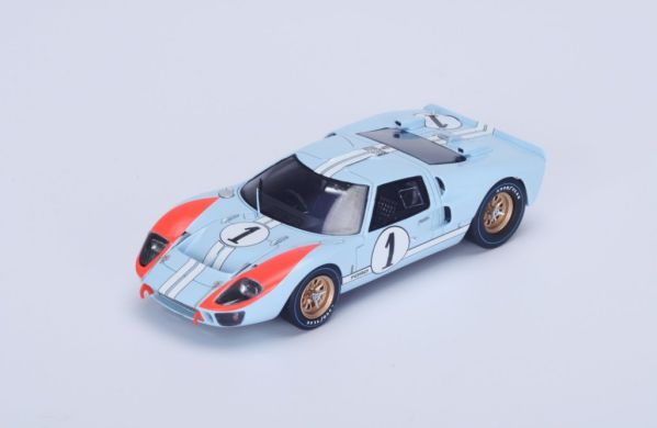 Picture Gallery for Spark S4075 Mk II n.1 2nd Le Mans 1966 - K. Mil...
