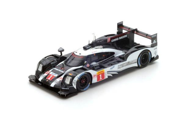 Spark MAP02087515 Porsche 919 Hybrid 18 Le Mans 2015 dark finish version 1:43