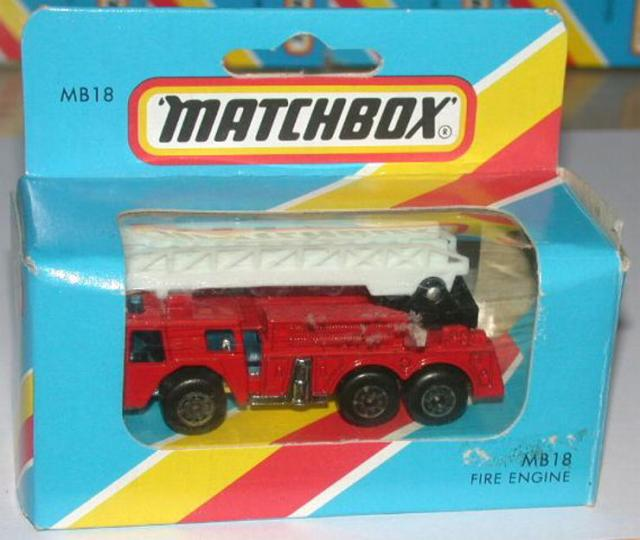 Picture Gallery for Matchbox 18g Fire Engine