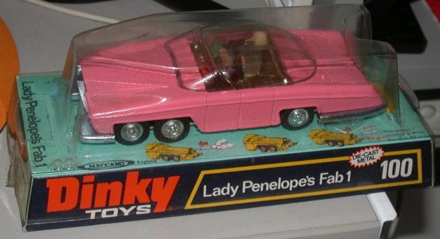 Picture Gallery for Dinky 100 Lady Penelope FAB 1