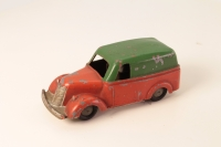 Timpo # - Utility Van - Green/Red Friction