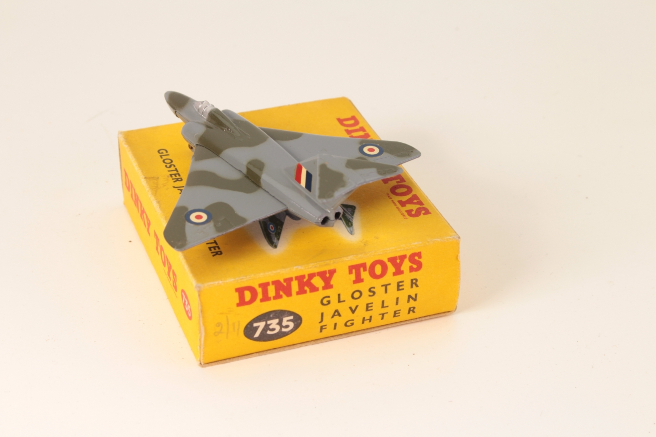 Dinky #735 - Gloster Javelin - Camouflage