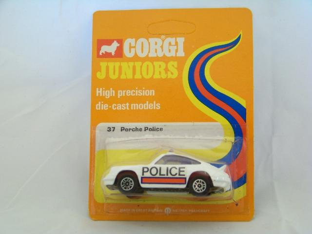 Picture Gallery for Corgi Juniors 37 Porsche Police Car
