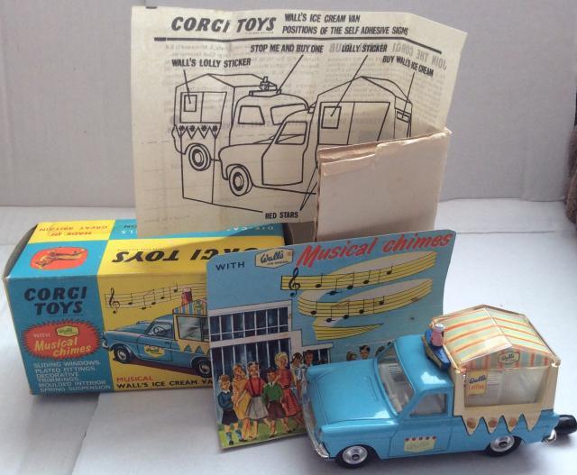 Picture Gallery for Corgi 474 Walls Ice Cream Van
