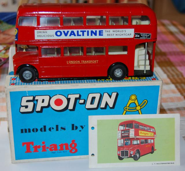 Picture Gallery for Spot-On 145 Routemaster Bus